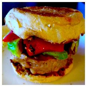turkey burger frame