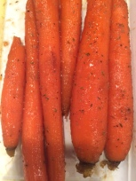 glazed carrots finished